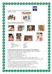 English worksheet: Spanglish