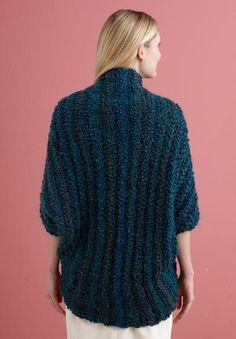 Free Crochet Pattern L20507 Simple Crochet Shrug : Lion Brand Yarn Company