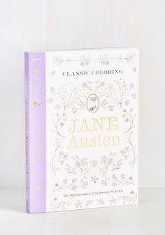 Jane Austen coloring book... I want this in my life...