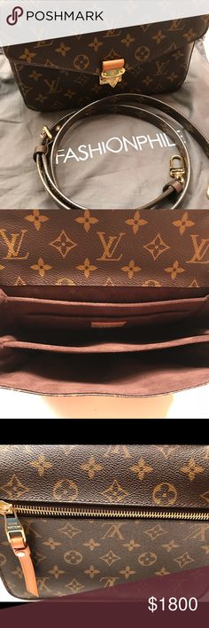 Louis Vuitton Monogram Pochette Metis I bought this from Fashionphile less  than a year ago and used approximately 10 times. It is in PRISTINE  condition. 01738ce72a1eb