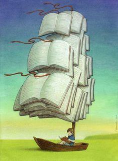 Sailing Away | Books Around The Table