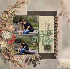 Enchanted Garden, Scrapbook Layouts, Painting, Attic, Home Decor, Loft Room, Decoration Home, Room Decor, Painting Art
