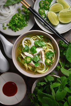 Instant Pot (Pressure Cooker) Chicken Pho by Michelle Tam / Nom Nom Paleo http://nomnompaleo.com