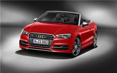 Audi lifted the curtains off the details for the all-new powerful 2015 Audi S3 Cabriolet. The open-top 4-seater gets its 300hp of power and 380Nm of max torque from a 2.0 TFSI engine. The engine is matted to all-wheel quattro permanent drive for optim...