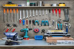 Zen and The Art Of Workshop Organization | Organization is important in every part of your home, even your workshop. Take at look at these easy organizational tips by Bonnie Joy Dewkett and make the most of your workshop today! #HomeMattersBlog