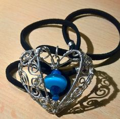 Charm with Cat Eye Beads and Agate on Leather Strap by Kieritivity