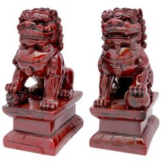 I pinned this Fu Dog Statue - Set of 2 from the Tinsley Mortimer event at Joss & Main!