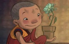 Dechen is a Ladhaki, Tibetan Buddhist monk-in-training with a passion for gardening. One stormy night, he rescues an exquisite flower by bringing it indoors.