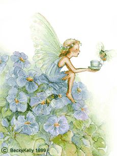 Fairy by: Becky Kelly Fairy Dust, Fairy Land, Fairy Tales, Magical Creatures, Fantasy Creatures, Kobold, Fable, Fairy Pictures, Vintage Fairies