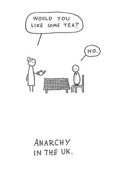 Anarchy in the UK - I think this is hilarious! Humor Videos, The Words, Haha Funny, Hilarious, Funny Stuff, Funny Ads, Funny Blogs, English People, British People