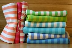 Cotton Dish Towels - Large