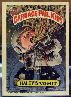1987 Topps Garbage Pail Kids Trading Card 318a by LEATHERGLACIER, $2.00