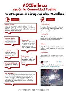Os presentamos la #CCBelleza según vosotros, la Comunidad Coelho. Vuestras palabras e imágenes. ¡Compartidlas con el mundo! - http://www.elmanuscritoencontradoenaccra.com/