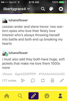 Cassian Andor and Steve Trevor.  Rogue One and Wonder Woman.