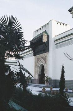 The Grande Mosquée de Paris.
