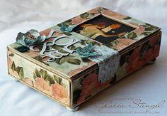 Lovely paper covered box