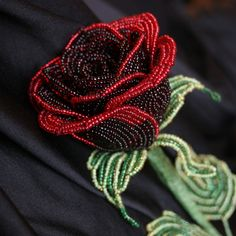 Bead rose LOVE