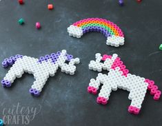 Peeler Bead Unicorn Craft