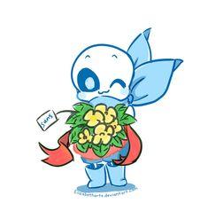Flowers by Elizabetharte on DeviantArt Undertale Cosplay, Undertale Comic Funny, Undertale Ships, Undertale Cute, Undertale Fanart, Sans Cute, Toby Fox, Underswap, Undertale Drawings