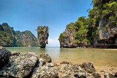 Abandoned Island - Phang Nga, Thailand by Souvik_Prometure