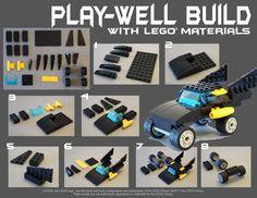 Build your own Batmobile!