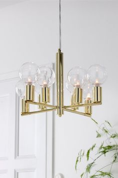 Taklampor online - Ellos.se Interior Exterior, Home Interior, Interior Design, Wall Lights, Ceiling Lights, Victoria, Candle Sconces, Lamp Light, Sweet Home