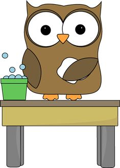 Owl Table Washer