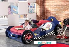 Racing Car Bed: Fun and Safety for your Children