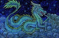 Puff the Magic Dragon by Rebecca Postanowicz