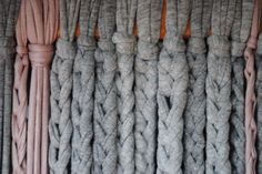 Mes detalls !!! Beaded Curtains, Diy Curtains, Curtains With Blinds, Dividers, Merino Wool Blanket, Knit Crochet, Camping, Crafty, Sewing