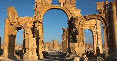 UNESCO Director-General condemns the destruction of the Arch of Triumph in Palmyra - Monday, October 5, 2015