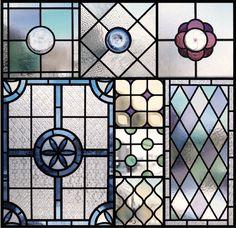 ステンドグラスパネル ウェブショップにて販売中です。 Faux Window, Window Wall, Window Panels, Glass Panels, Stained Glass Projects, Stained Glass Patterns, Mosaic Glass, Glass Art, Wet Rooms