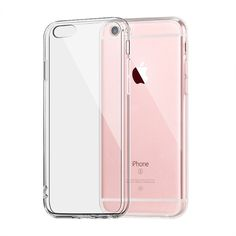 IQD For Apple iPhone 6 6s 7 Plus Case Clear TPU Cases Slim Crystal Silicone Protective sleeve Cover Transparent Covers Soft hard