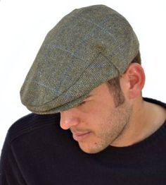 ad06486e74d Failsworth Waterproof Grey Blue Flat Cap Failsworth Hats Ltd has been  manufacturing ladies hats and men