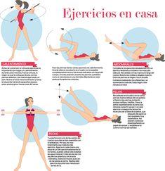 Ejercicios para hacer en casa #encasa #ejercicios   http://vivisaludable.com/ejercicios-abdomen-plano/
