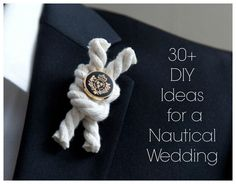 Wedding Themes: Nautical Wedding Check out the website for Nautical Wedding Inspiration, Nautical Wedding Theme, Nautical Party, Wedding Themes, Themed Weddings, Nautical Wedding Centerpieces, Wedding Dresses, Anchor Wedding, Boat Wedding