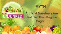 Food Myth || Artificial Sweetners Are Healthier Than Regular Sugar