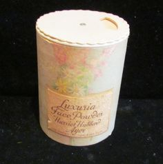 Powder Box - Powder  - 1930's - Harriet Hubbard Ayer - FULL AND UNOPENED. $19.99, via Etsy.