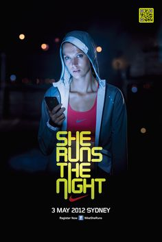 NIKE SHE RUNS by Like Minded Studio, via Behance