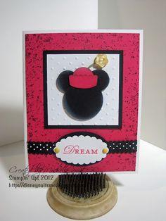 """A little """"Minnie"""" punch art"""