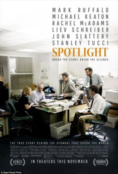 "Tom McCarthy's ""Spotlight"" ('15)"