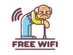 Free Wifi designed by Gregory Grigoriou. Free Wifi, Logos, Pattern, Graphics, Charts, Graphic Design, Model, Patterns, Logo