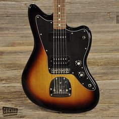 Fender Blacktop Jazzmaster 3-Tone Sunburst USED