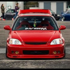 Honda Civic #lowered #front #6th Gen   ♠... X Bros Apparel Vintage Motor T-shirts, New and Classic Honda Civics, VTECH cars,  Great price… ♠♠