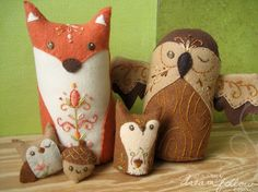 Felting is my hobby, but I also love to buy felt things!!!! I haven't bought any of these, but I want to!!