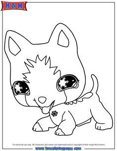 Littlest Pet Shop Coloring Pages