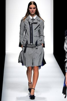 #Style.com #Spring2013  I would love to have this jacket! Preppy and sporty.