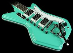 Eastwood Airline '59 Custom 3P Electric Guitar Seafoam Green