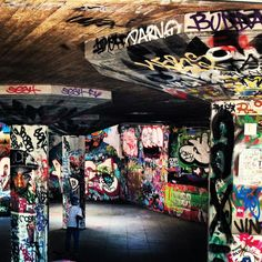 Graffity - London - Southbank - Skatepark