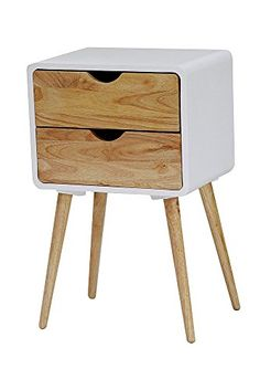 Heather Ann Creations Euro Collection Modern 2 Drawer Acc...